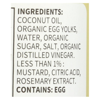 Chosen Foods - Coconut Oil Mayo - Case of 6 - 12 fl oz.
