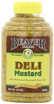 Beaver - Deli Mustard - Case of 6 - 12.5 oz.