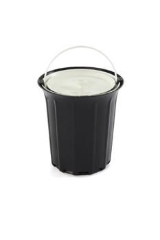 Full Circle Home - Breeze Odor-Free Countertop Compost Collector - Black - Case of 4 - 1 Count