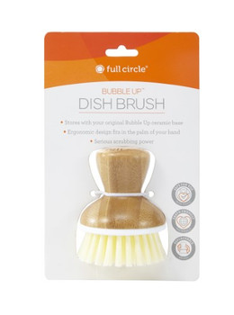 Full Circle Home - Bubble Up Dish Brush - White - Case of 6 - 1 Count