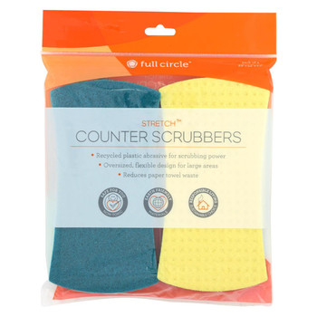 Full Circle Home - Stretch Counter Scrubbers - 4 Count