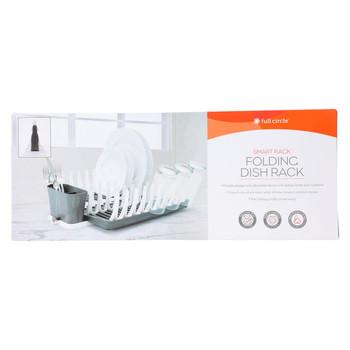 Full Circle Home - Smart Rack Folding Dish Rack - Graphite - 1 Count