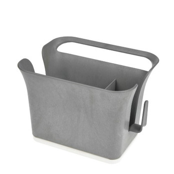Full Circle Home - Sink Cady - Bright Graphite - 1 Count
