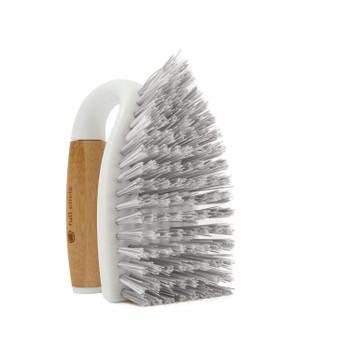 Full Circle Home - Tough Stuff All-Purpose Scrub Brush - White - Case of 6 - 1 Count