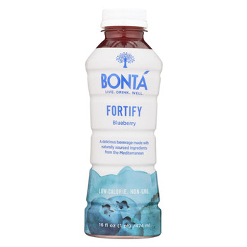 Bonta - Water - Fortify Blueberry - Case of 12 - 16 fl oz.