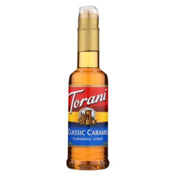 Torani - Coffee Syrup - Caramel - Case of 4 - 12.7 fl oz.