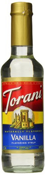 Torani - Coffee Syrup - Vanilla - Case of 4 - 12.7 fl oz.