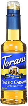 Torani - Coffee Syrup - Sugar Free Caramel - Case of 4 - 12.7 fl oz.