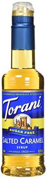 Torani - Coffee Syrup - Sugar Free Salted Caramel - Case of 4 - 12.7 fl oz.
