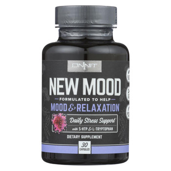 Onnit Labs - New Mood Daily Stress Support - 30 CT