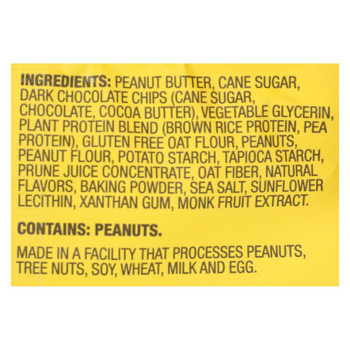 Munk Pack - Protein Cookie - Peanut Butter Chocolate Chip - Case of 6 - 2.96 oz.