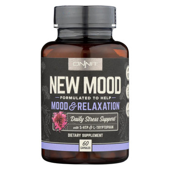 Onnit Labs - New Mood Daily Stress Support - 60 CT