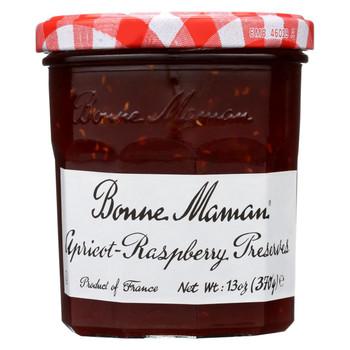 Bonne Maman - Conserve - Apricot Raspberry - Case of 6 - 13 oz.