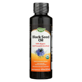 Nature's Way - Black Seed Oil - 8 fl oz.