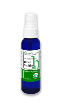 Brittanie's Thyme - Organic Hand Sanitizer - Rosemary Peppermint - 2 oz.