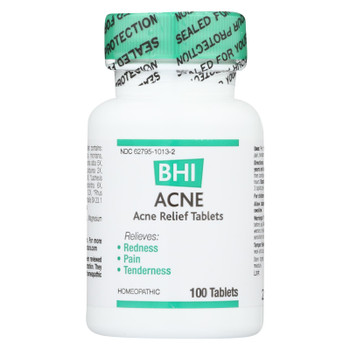 BHI - Acne Relief - 100 Tablets