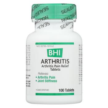 BHI - Arthritis Pain Relief - 100 Tablets