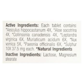 BHI - Hemorroid Relief - 100 Tablets