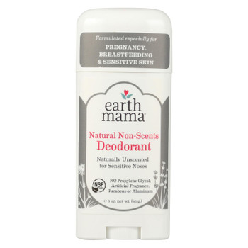 Earth Mama - Deodorant - Non-Scented - 3 oz.