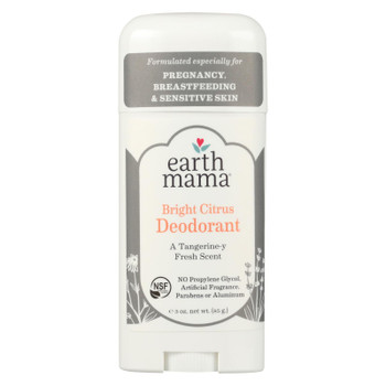Earth Mama - Deodorant - Bright Citrus - 3 oz.