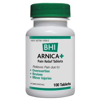 BHI - Arnica Plus - 100 Tablets