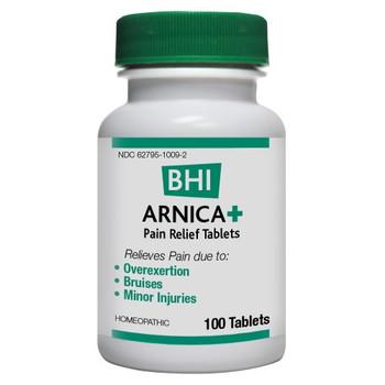 BHI - Arnica Plus - 100 Tablets