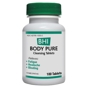 BHI - Body Pure - 100 Tablets