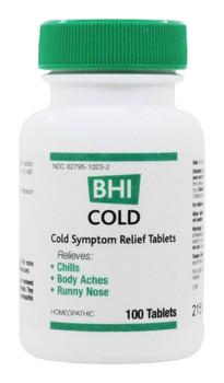 BHI - Cold Tablets - 100 Tablets