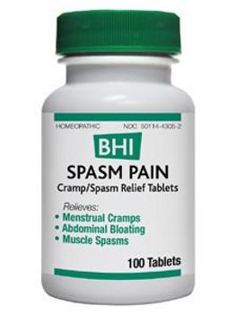 BHI - Spasm Pain Tablets - 100 Tablets