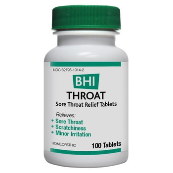 BHI - Throat Tablets - 100 Tablets