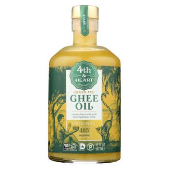 4th & Heart - Ghee Oil - Original Pourable - Case of 6 - 16 oz.