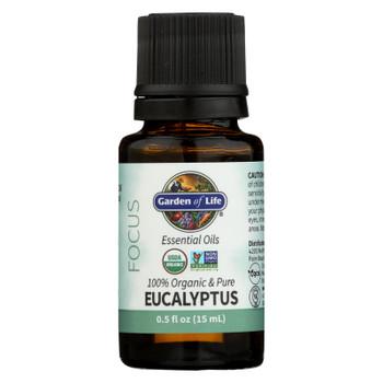 Garden Of Life - Essential Oil Eucalyptus - .5 FZ