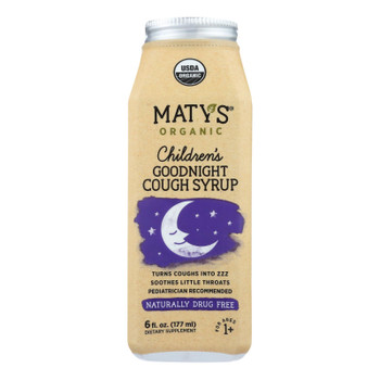 Maty's - Organic Children's Goodnight Cough Syrup - 6 fl oz.