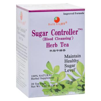Health King Sugar Controller Blood Cleansing Herb Tea - 20 Tea Bags