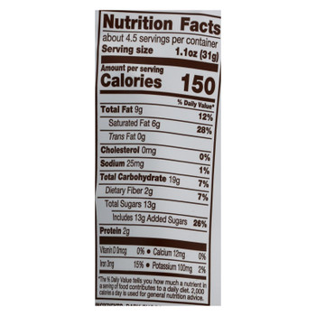Bark Thins - Snacking Chocolate - Holiday Gingerbread - Case of 12 - 4.7 oz.