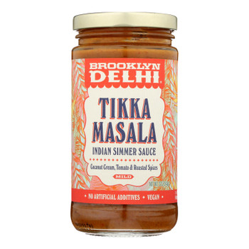 Brooklyn Delhi - Tikka Masala Simmer Sauce - Case of 6 - 12 oz