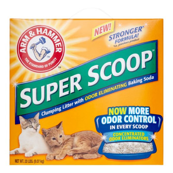 Arm & Hammer - Cat Litter Spr Scp Fresh - Case of 2 - 20 LB