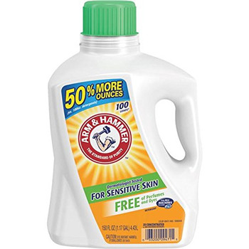 Arm & Hammer - Laundry Deter Free - Case of 4 - 150 FZ