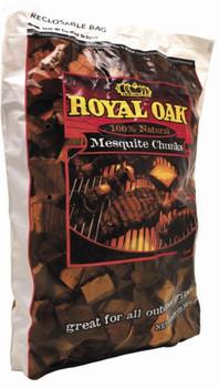 Royal Oak - Mesquite Chunks - Case of 6 - 360 CU