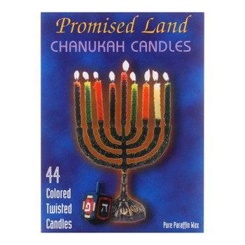 Promised Land Chanukah Candles  - Case of 50 - 44 CT
