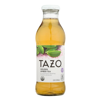 Tazo Tea - Iced Tea Golden Amber - Case of 12 - 13.8 FZ