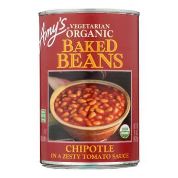 Amy's - Baked Beans Chptle - Case of 12 - 15 OZ