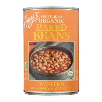 Amy's - Baked Beans Wstern - Case of 12 - 15 OZ
