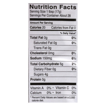 Fody Food Co. Ketchup - Case of 10 - 16.8 OZ