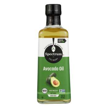 Spectrum Naturals - Avocado Oil Rfnd Cld Prsd - Case of 6 - 16 FZ