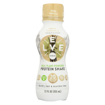 Evolve Vanilla Plant Based Protein Shake  - Case of 12 - 12 FZ