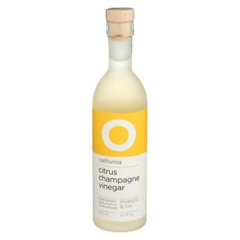 O Olive Oil Citrus Champagne Vinegar - Case of 6 - 10.1 FZ