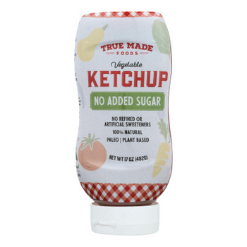 True Made Foods - Ketchup Squeeze Bottle - Case of 6 - 17 OZ