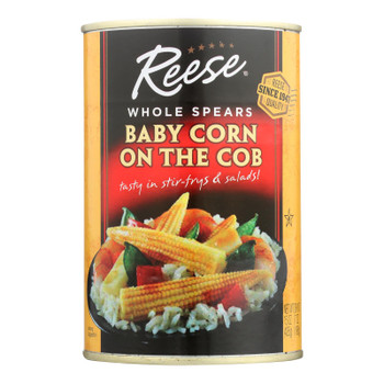 Reese Baby Corn On The Cob  - Case of 6 - 15 OZ