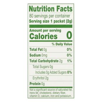 Truvia - Sweetener Natural - Case of 12 - 80 CT